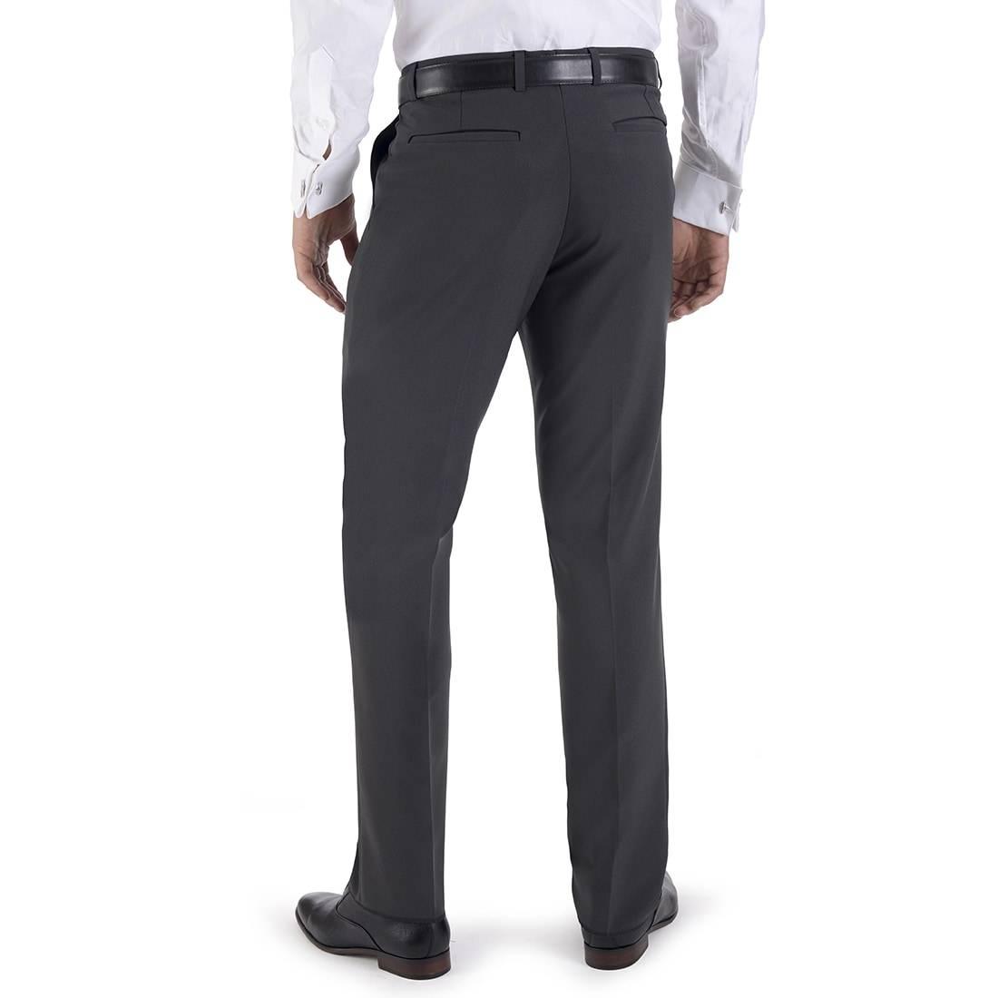 Pantalon Vestir Sin Pinzas Yale