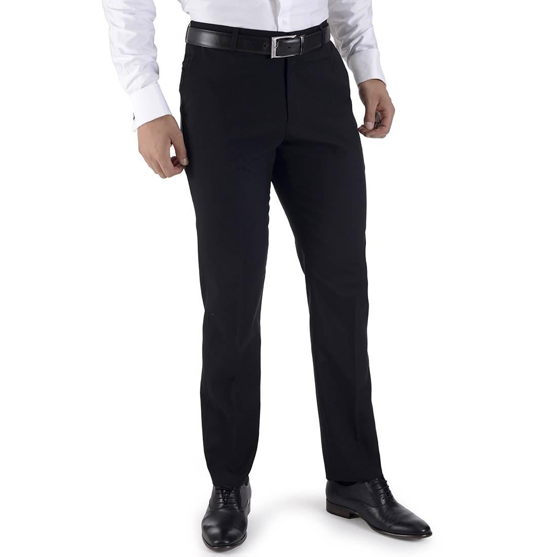 010060034009-01-Pantalon-de-Vestir-sin-Pinzas-Classic-Fit-Negro-yale
