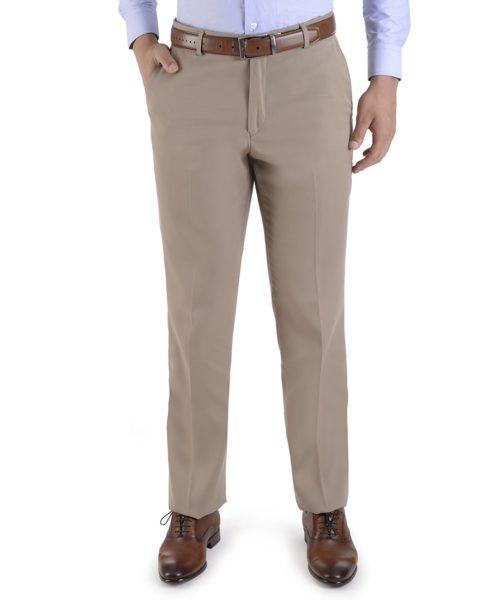 010060854165-01-Pantalon-Vestir-sin-Pinzas-con-Teflon-Classic-Fit-Beige-yale