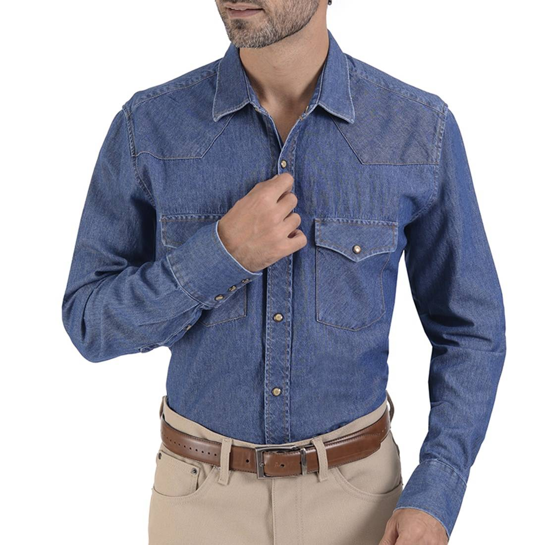 041941571718-01-Camisa-Vaquera-Mezcliia-Classic-Fit-Stone-Bleach-yale