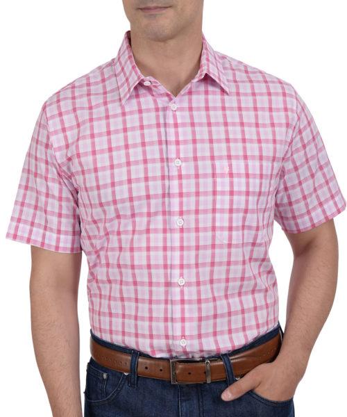 042120431863-01-Camisa-Casual-Manga-Corta-Cuadros-Classic-Fit-Chicle-yale