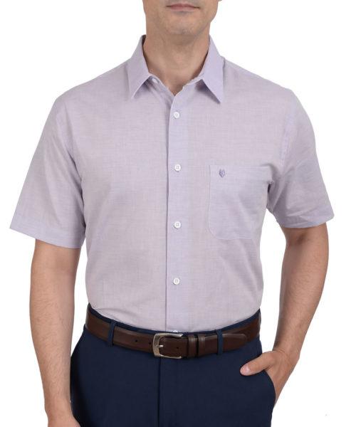 042120590441-01-Camisa-Casual-Manga-Corta-Classic-Fit-Lisa-Lila-yale