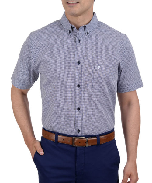 042201659019-01-Camisa-Casual-Manga-Corta-Botton-Down-Cuadro-Pequenos-Classic-Fit-Marino-yale