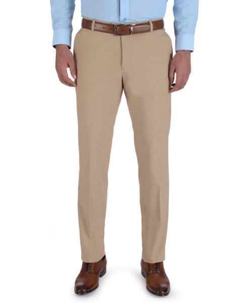 010023070967-01-Pantalon-de-Vestir-Sin-Pinzas-Collection-Slim-Fit-Con-Elastano-Kaki-yale