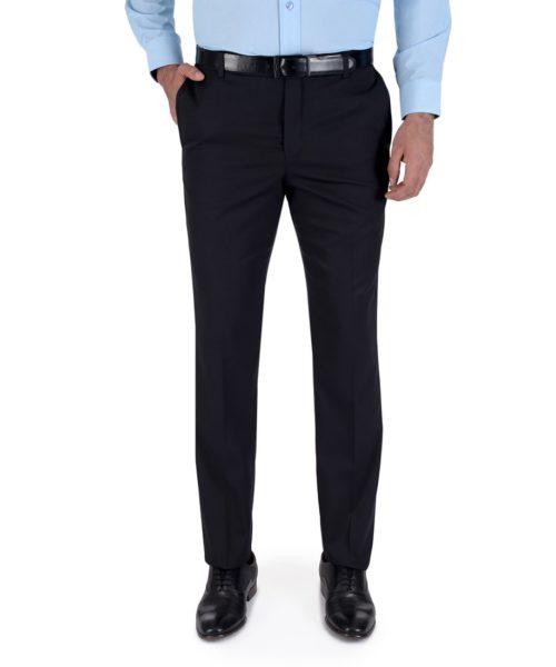 010078109209-01-Pantalon-de-Vestir-Sin-Pinzas-Modern-Slim-Fit-Cintura-Ajustable-Negro-yale