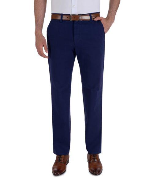 010809065425-01-Pantalon-Casual-Sin-Pinzas-Classic-Fit-Con-Elastano-Azul-yale