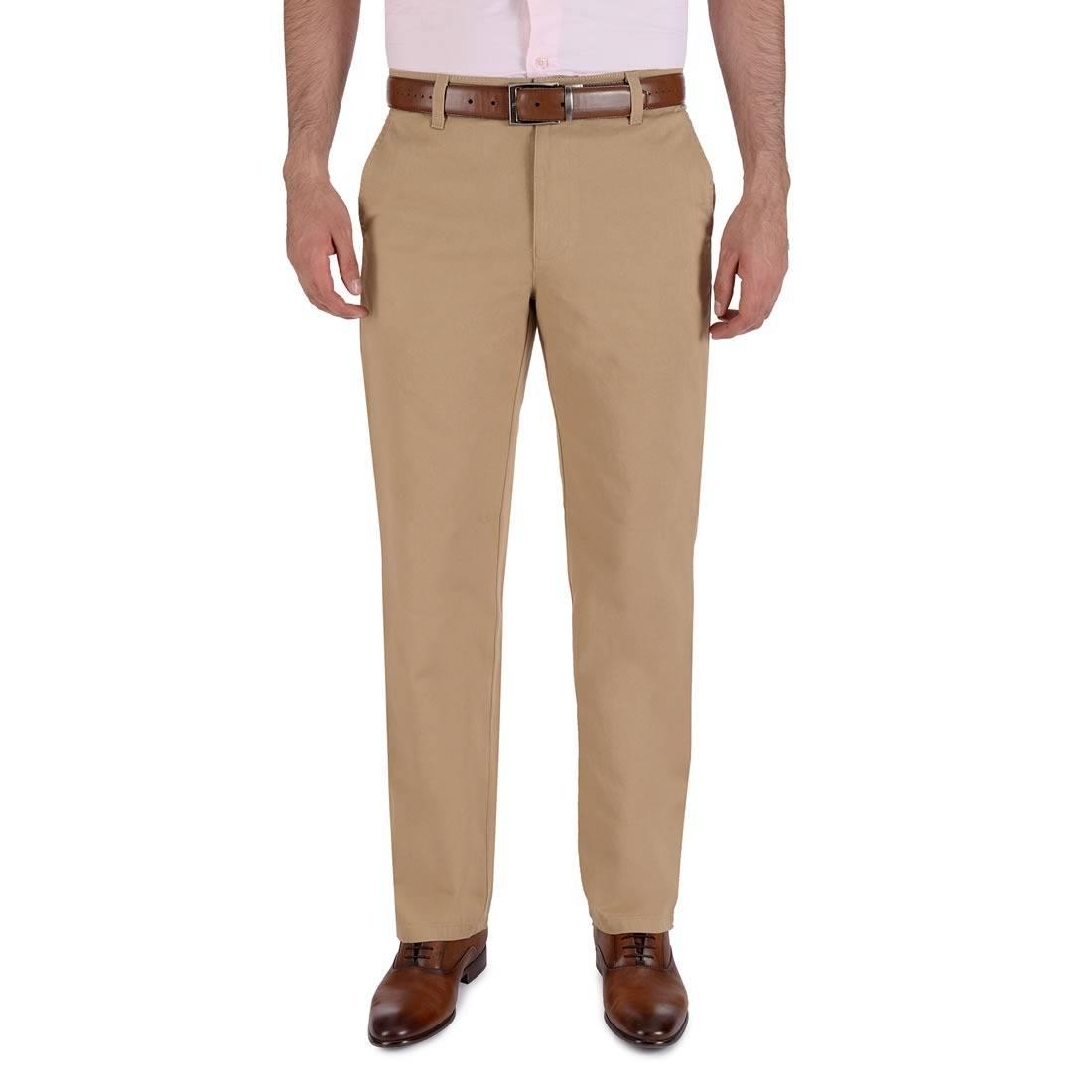 010811074467-01-Pantalon-Casual-Sin-Pinzas-Classic-Fit-Kaki-yale