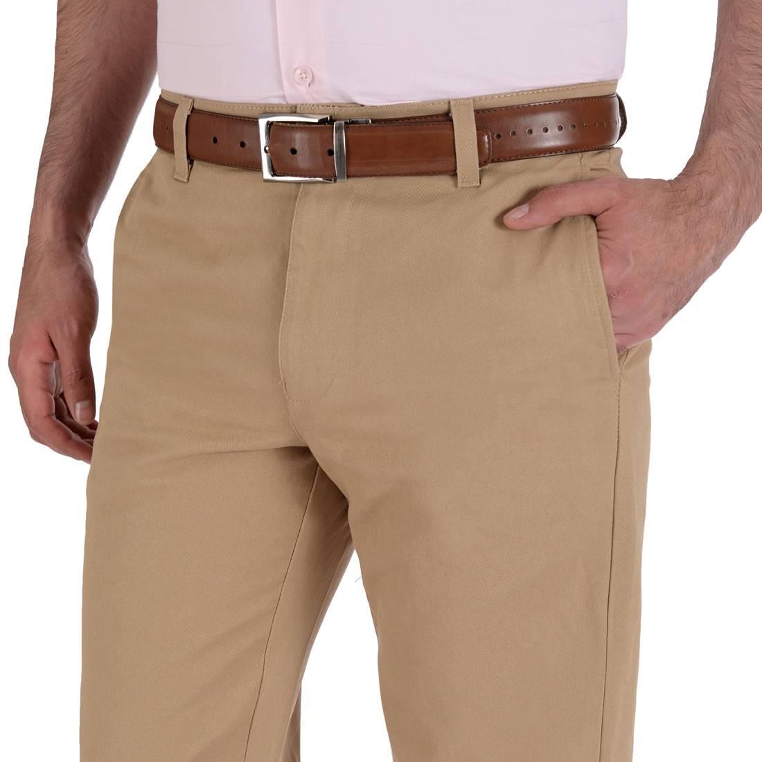 010811074467-03-Pantalon-Casual-Sin-Pinzas-Classic-Fit-Kaki-yale
