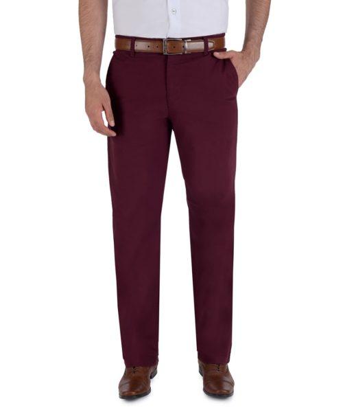 010811077434-01-Pantalon-Casual-Sin-Pinzas-Classic-Fit-Con-Elastano-Vino-yale