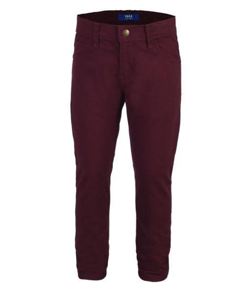 021109077434-01-Pantalon-Vaquero-Boys-Gabardina-Con-Elastano-Skinny-Fit-Cintura-Ajustable-Rojo-yale