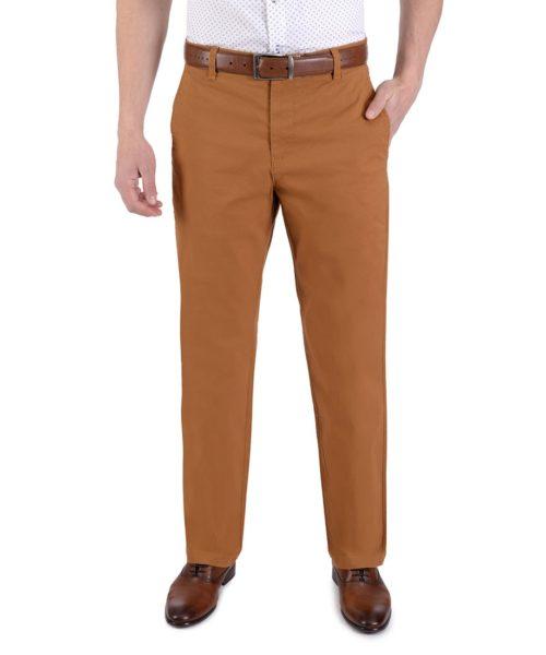 010771097770-01-Pantalon-Casual-Sin-Pinzas-Classic-Fit-Con-Elastano-Mostaza-yale