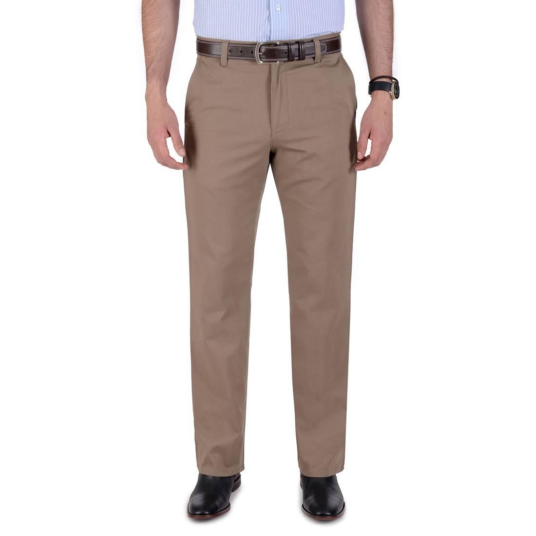 010789055268-01-Pantalon-Casual-Classic-Fit-Cafe-yale