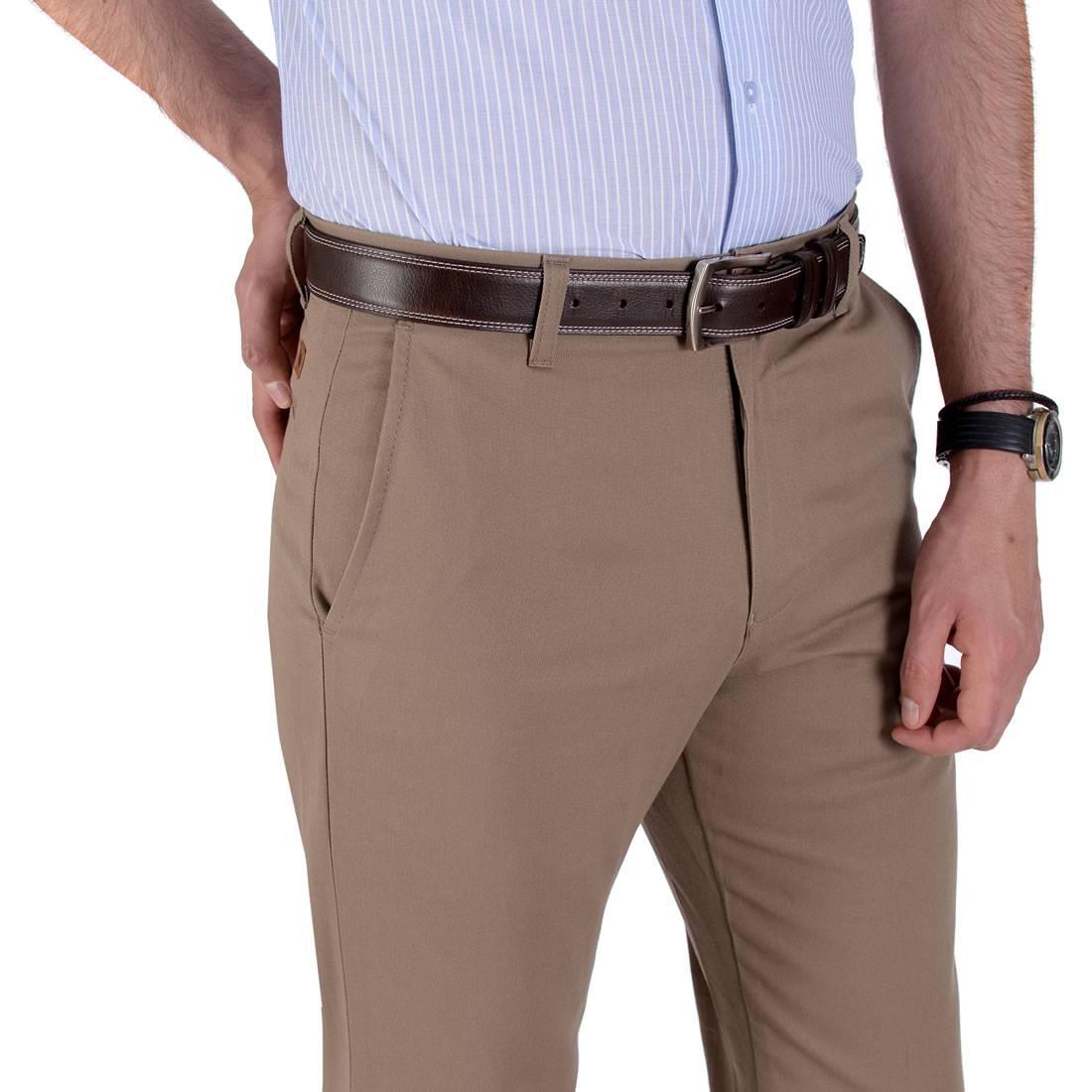 010789055268-03-Pantalon-Casual-Classic-Fit-Cafe-yale