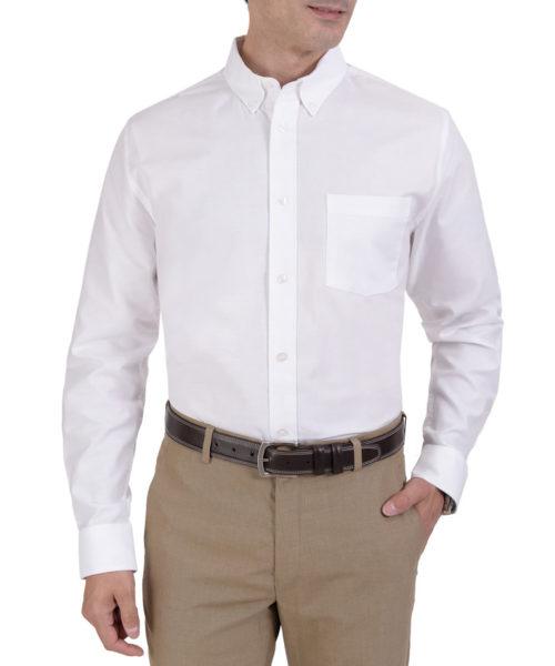 041894321602-01-Camisa-Manga-Larga-Tela-Oxford-Classic-Fit-Blanco-yale