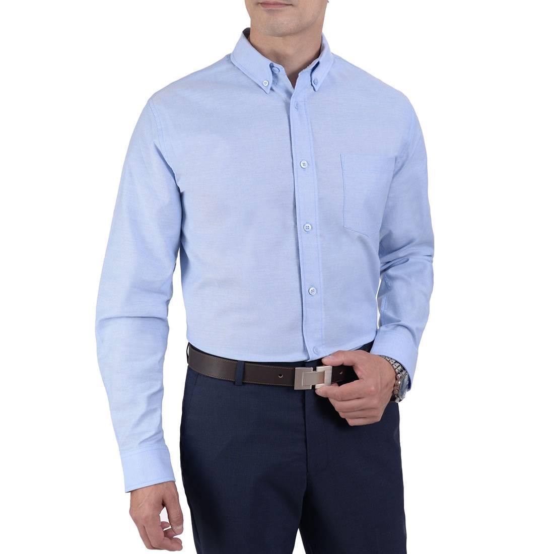 041894321611-01-Camisa-Manga-Larga-Tela-Oxford-Classic-Fit-Azul-Cielo-yale