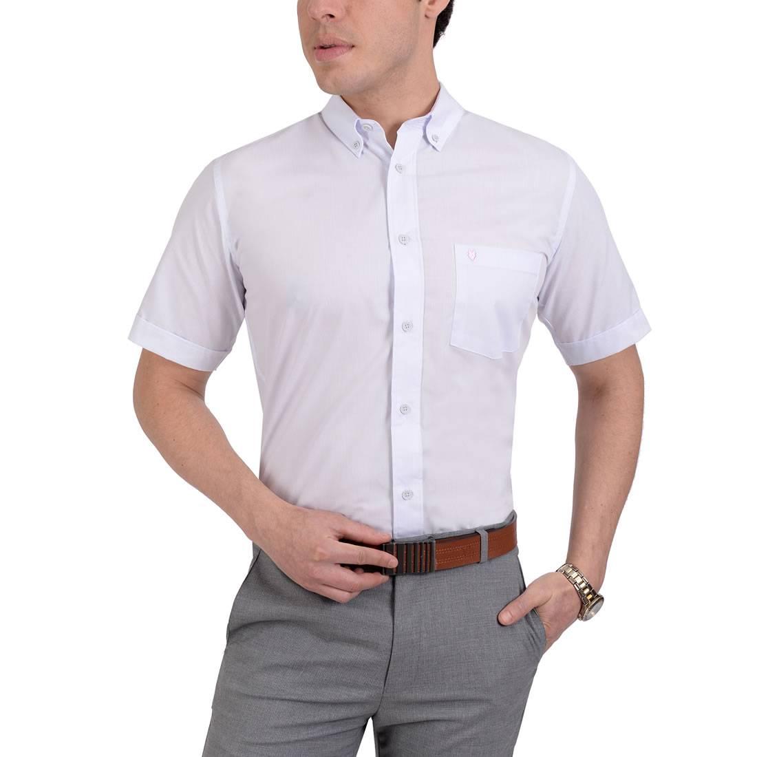 042204431440-01-Camisa-Casual-Manga-Corta-Modern-Fit-Lila-Palido-yale