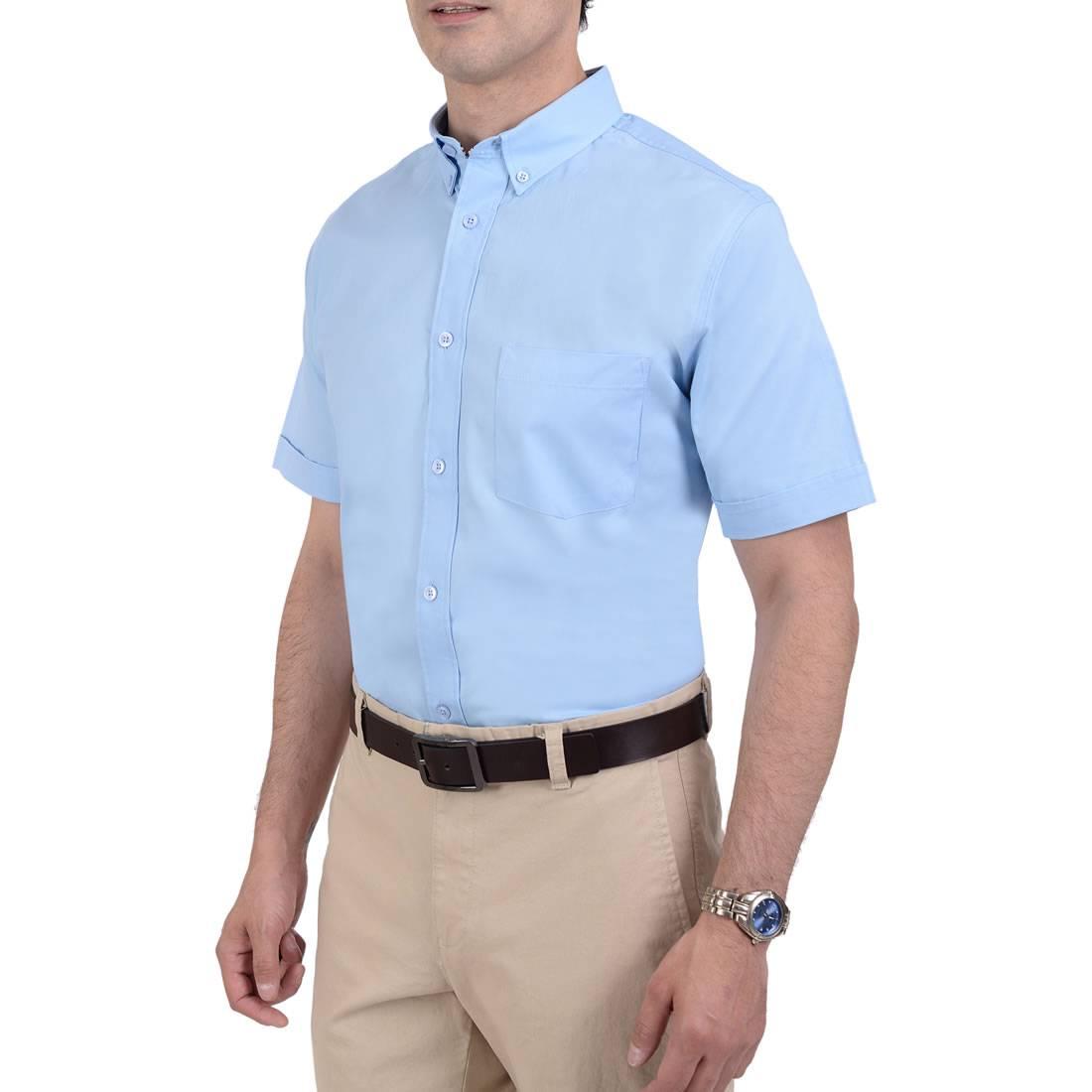 042331381711-02-Camisa-Manga-Corta-classic-Fit-Azul-Cielo-yale