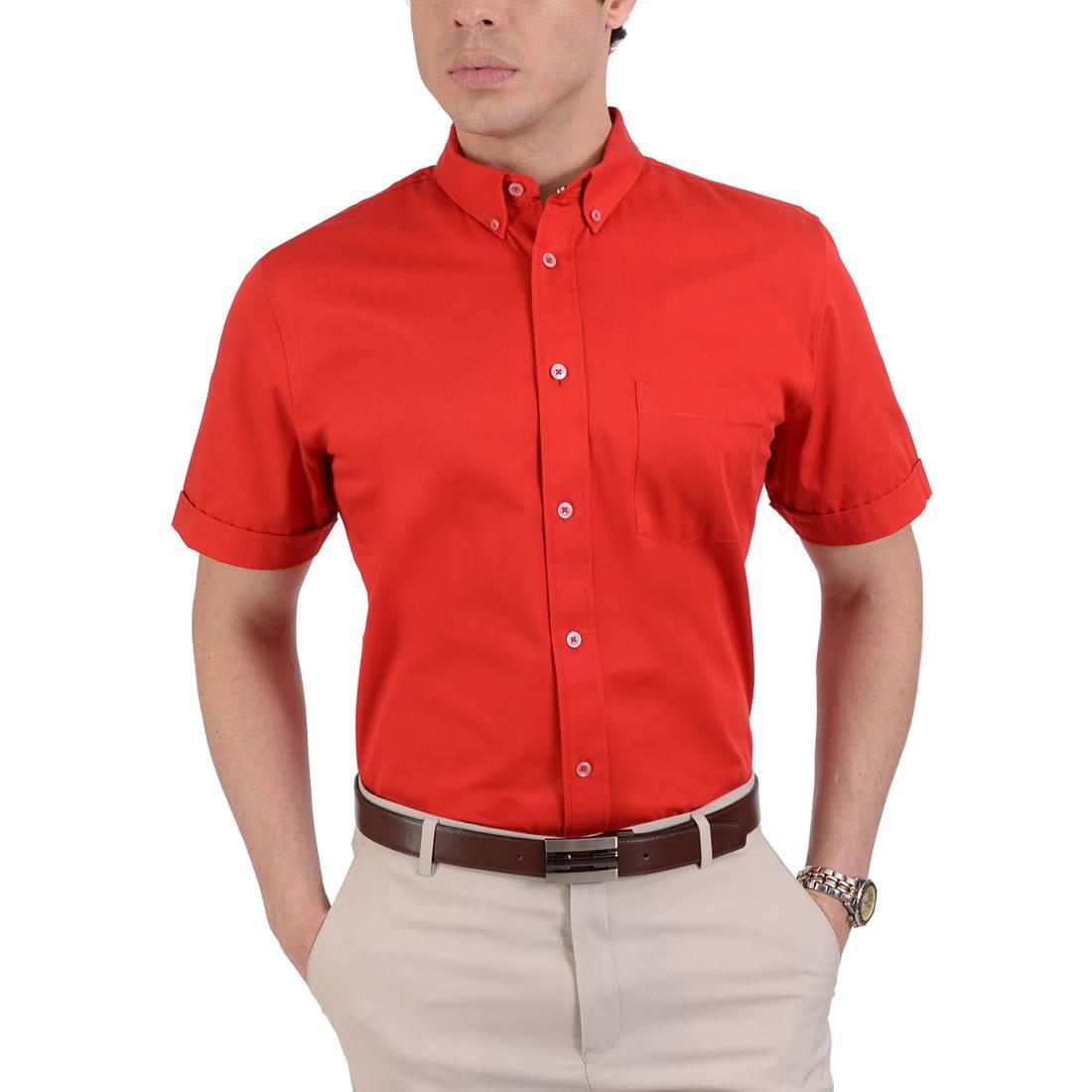 042331381731-01-Camisa-Manga-Corta-classic-Fit-Rojo-yale